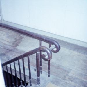 Stair detail, Myrick-Yeates-Vaughn House, Murfreesboro, Hertford County, North Carolina