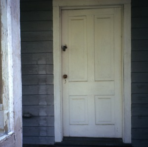 Doorway, George Houston House (Walls-Houston House), Iredell County, North Carolina