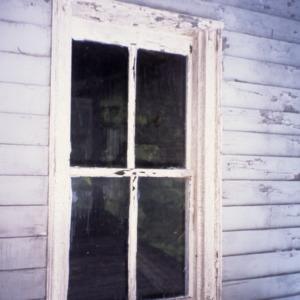 Window, George Houston House (Walls-Houston House), Iredell County, North Carolina