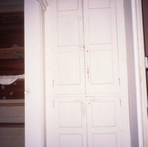 Interior detail, George Houston House (Walls-Houston House), Iredell County, North Carolina