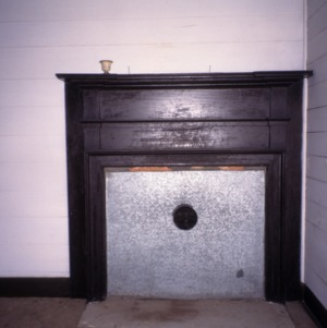 Fireplace, George Houston House (Walls-Houston House), Iredell County, North Carolina