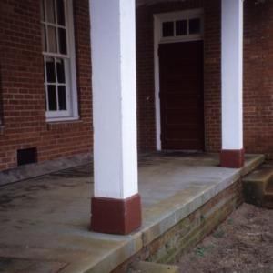 Exterior detail, Princeton Graded School, Princeton, Johnston County, North Carolina