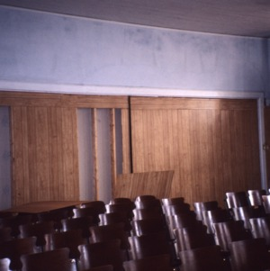 Auditorium view, Princeton Graded School, Princeton, Johnston County, North Carolina