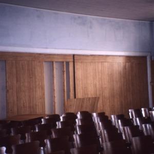 Auditorium view, Princeton Graded School, Princeton, Johnston County, North Carolina