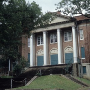 Front view, Grainger High School, Kinston, Lenoir County, North Carolina