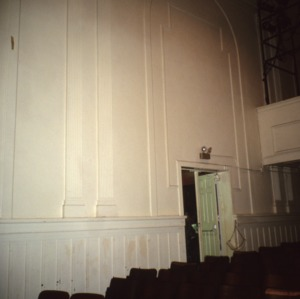 Interior view, Grainger High School, Kinston, Lenoir County, North Carolina