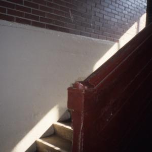 Stairs, Grainger High School, Kinston, Lenoir County, North Carolina