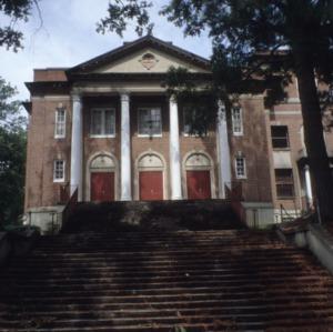 Partial view, Grainger High School, Kinston, Lenoir County, North Carolina