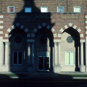 Entrance detail, Hotel Kinston, Lenoir County, North Carolina