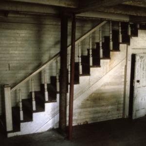 Stairs, Caldwell-Cobb-Love House, Lincolnton, Lincoln County, North Carolina