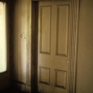 Doorway, Caldwell-Cobb-Love House, Lincolnton, Lincoln County, North Carolina