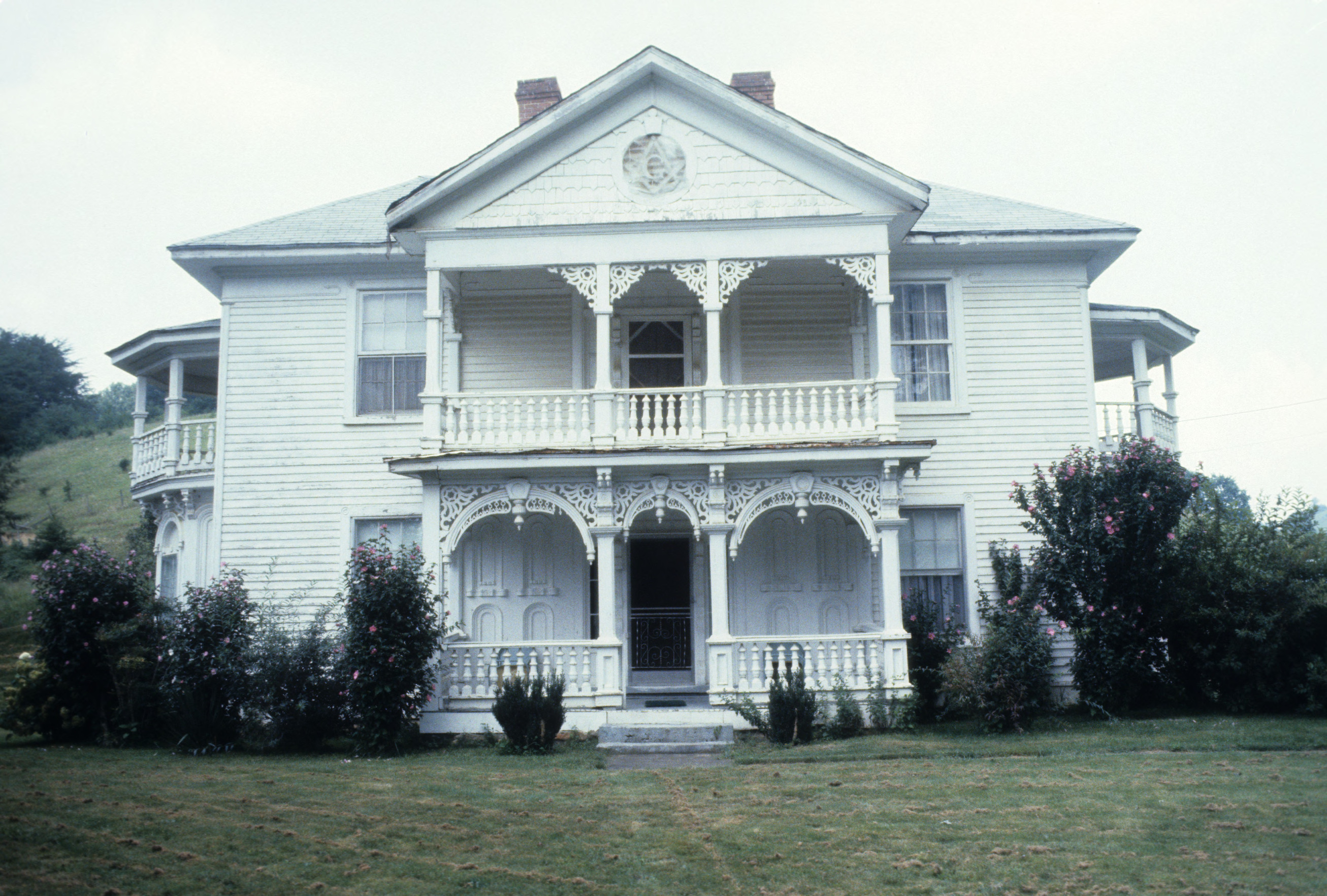 Front view, Jefferson J. White Jr. House, Madison County ...