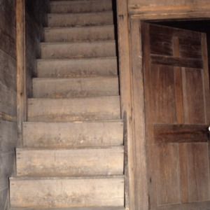 Stairs, Black-Cole House, Moore County, North Carolina