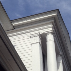 Exterior detail, Holly Inn, Pinehurst, Moore County, North Carolina