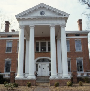 Front view, Machaven, Nash County, North Carolina