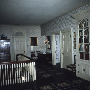 Interior view, Machaven, Nash County, North Carolina