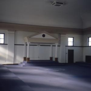 Interior view, Masonic Temple, Rocky Mount, North Carolina