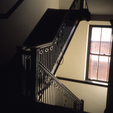 Stairs, Masonic Temple, Rocky Mount, North Carolina