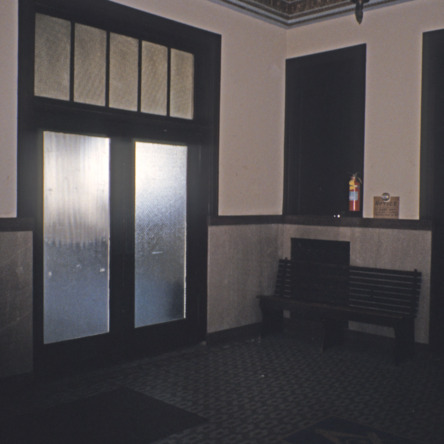 Interior view, Masonic Temple, Rocky Mount, North Carolina