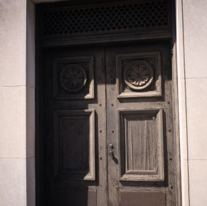 Doors, Masonic Temple, Rocky Mount, North Carolina