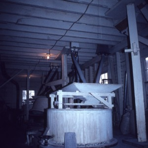 Interior view, Webb's Mill, Nash County, North Carolina