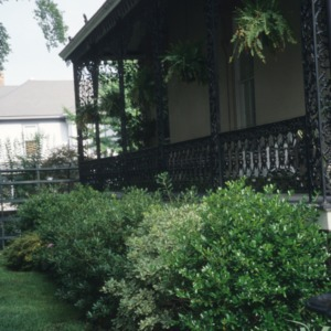 Partial view, Zebulon Latimer House, Wilmington, New Hanover County, North Carolina