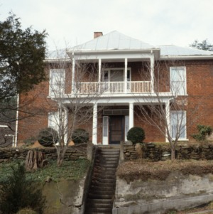 Front view, Gudger House, Bakersville, Mitchell County, North Carolina