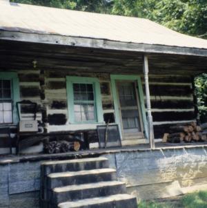 Porch, Webb Cabin, Mitchell County, North Carolina