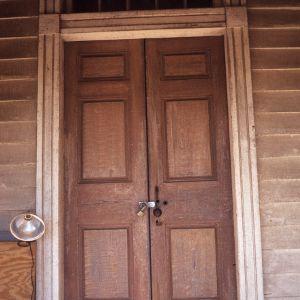 Door, Bingham School, Orange County, North Carolina