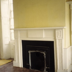 Fireplace, Land's End, Perquimans County, North Carolina