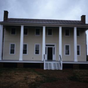 View, General Jonathan Hill Jacocks House, New Hope, Perquimans County, North Carolina