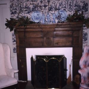 Fireplace, Bessie Jackson House, Polk County, North Carolina