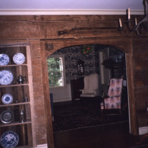 Interior view, Bessie Jackson House, Polk County, North Carolina
