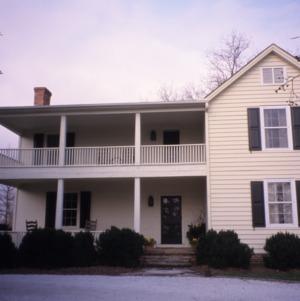 View, Bessie Jackson House, Polk County, North Carolina