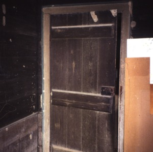 Door, Elliott House, Polk County, North Carolina
