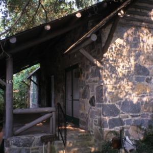 Porch, Rock House, Polk County, North Carolina