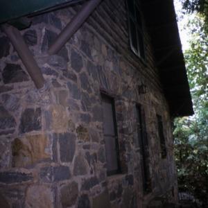 Partial view, Rock House, Polk County, North Carolina