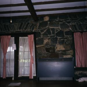 Interior view, Rock House, Polk County, North Carolina