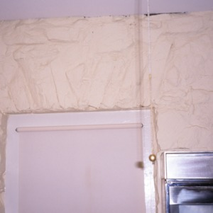 Interior detail, Rock House, Polk County, North Carolina