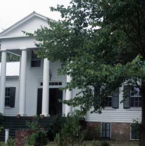 Front view, Stockton, Woodville, Perquimans County, North Carolina