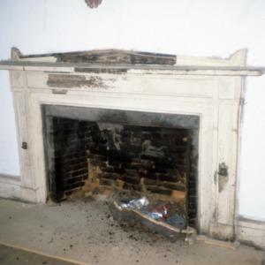 Fireplace, Stockton, Woodville, Perquimans County, North Carolina