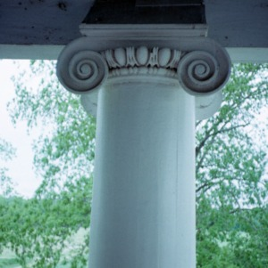 Column detail, Cove Grove, Perquimans County, North Carolina