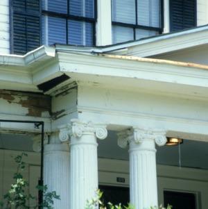 Exterior detail, House, Trinity Park and Trinity Heights, Durham County, North Carolina