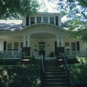Front view, House, Trinity Park and Trinity Heights, Durham County, North Carolina