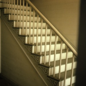 Stairs, McClelland-Davis House, Iredell County, North Carolina