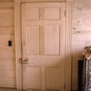 Doorway, McClelland-Davis House, Iredell County, North Carolina