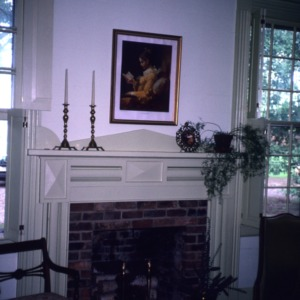 Fireplace, McClelland-Davis House, Iredell County, North Carolina