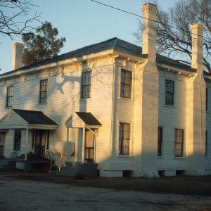 Doorway, Atkinson-Smith House, Johnston County, North Carolina