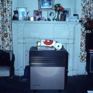 Fireplace, Atkinson-Smith House, Johnston County, North Carolina