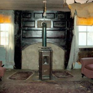 Interior view, Shook House, Clyde, Haywood County, North Carolina